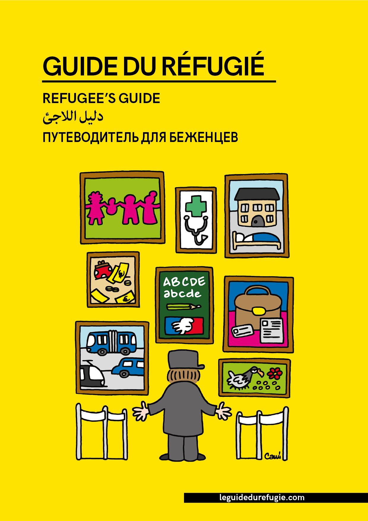 le guide du refugie couverture guide numerique