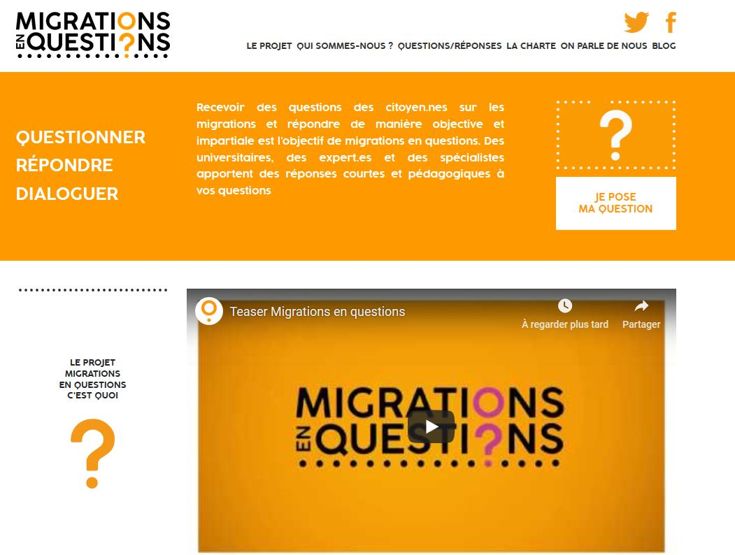 migrations en question