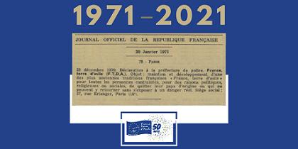 1971 - 2021 : 50 ANS